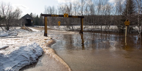 Flooding in New Brunswick