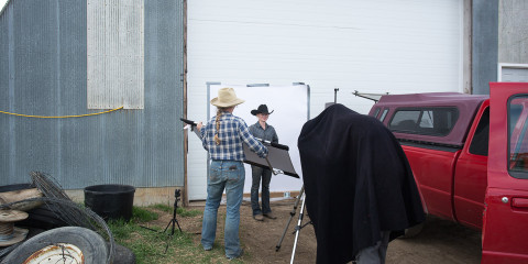 Behind the Scenes in Consort, Alberta